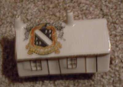 Shelley China Crested Ware 189 - Burns Cottage - Letchworth