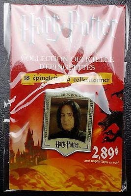 Harry Potter Official Collector Pin - SEALED - Severus Rogue