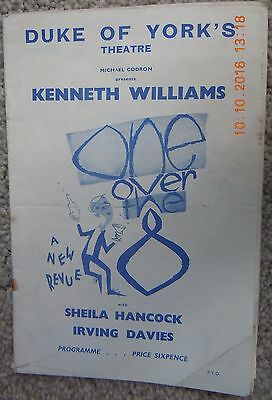 Duke Of York's Theatre Programme-One Over The Eight -Kenneth Williams-April 1961