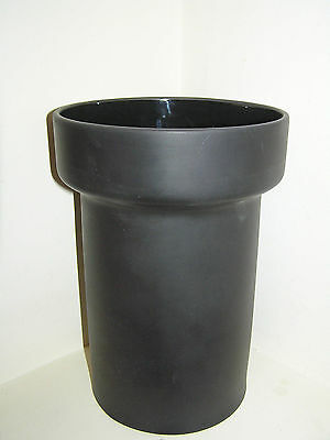 Royal Doulton Barber & Osgerby Designer 200 Years Black Pipe Vase Boxed Retro