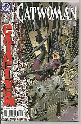 Catwoman # 56 * Near Mint * Cataclysm