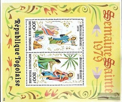 Togo block141 unmounted mint / never hinged 1979 Easter
