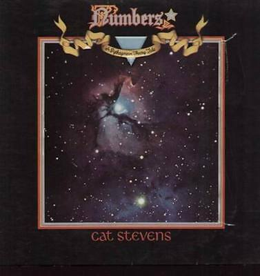 Cat Stevens Numbers GIMMIX COVER Island Vinyl LP