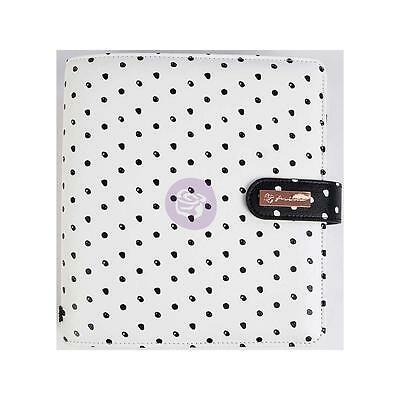 My Prima Planner - BREATHE - White with Black Dots