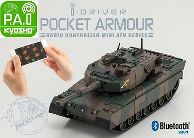 Kyosho 69030C Mini Bluetooth Type 90 Tank Japan Ground Self-Defense Force