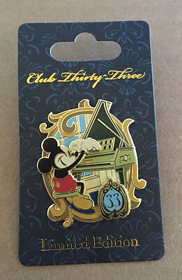 Member Exclusive DISNEYLAND CLUB 33 Pin - Limited Edition 1000