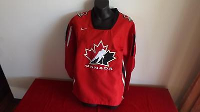 Canada Nike Hockey Jersey In Great Cond  Youth L-Xl Like New Cond