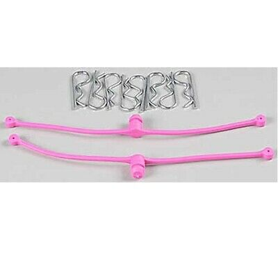 Dubro 2251 Body Klip / Clip Retainers Pink (2)