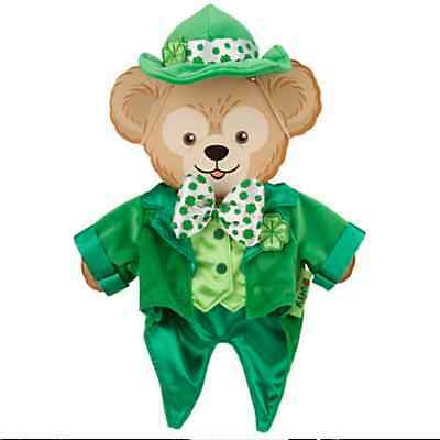 Disney Parks St Patrick's Day Duffy Bear Costume Outfit