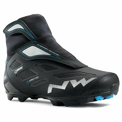 Northwave, Celsius Arctic 2 GTX, Winter shoes, Black/Blue, 48