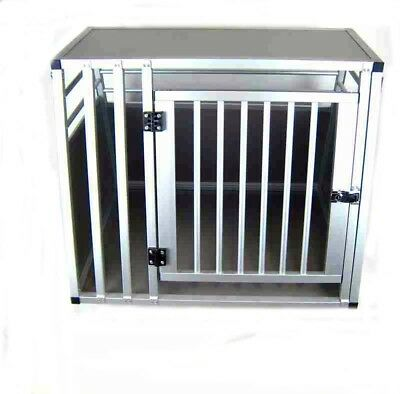 Hundebox Transportbox Aluminium 80 x 65 x 65cm Hundetransportbox Gr. M