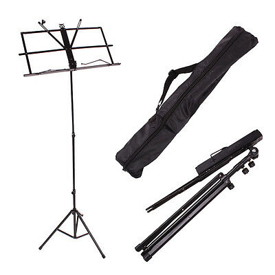 New Adjustable Folding Sheet Music Stands Free Bag
