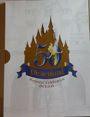 Disney 50th Anniversary Press Kit Pack w 8 Kits w Color Photos- UNUSED (C7131)
