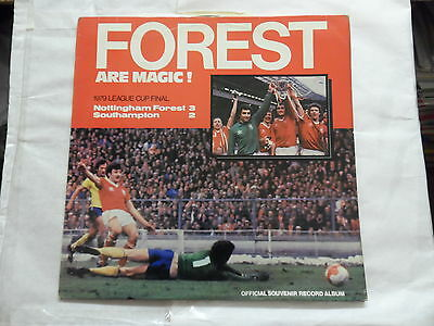Forest Are Magic  (Nottingham Forest ) 1979 League Cup Final L.p.