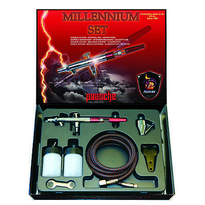 Mil  double Action, Paasche Airbrush Pistole