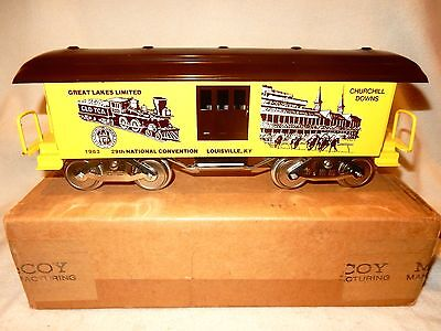 McCoy Manufacturing TCA standard gauge 29th National convention car-new look!--