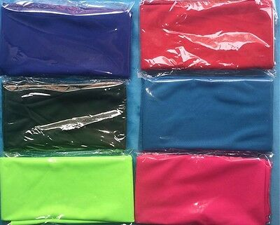 """10"" x  MIXED COLOURS Cooling Towels.Ice Cold Neck Coolers. GREAT FOR GYMS"