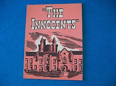 Souvenir Theatre Program starring Sylvia Sidney (autographed) in The Innocents