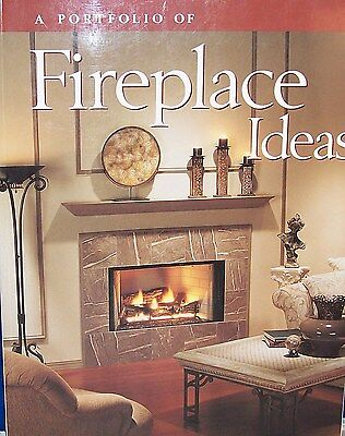 """A PORTFOLIO OF FIREPLACE IDEAS"" shows incredible ideas for fireplaces & stoves"