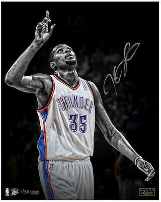 "KEVIN DURANT Signed ""Moment of Thanks"" 16 x 20 Photograph LE 35 PANINI"