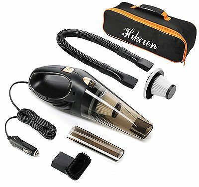 Portable 12V 106W Handheld Wet & Dry Auto Car Home Vacuum Dirt Cleaner With Bag