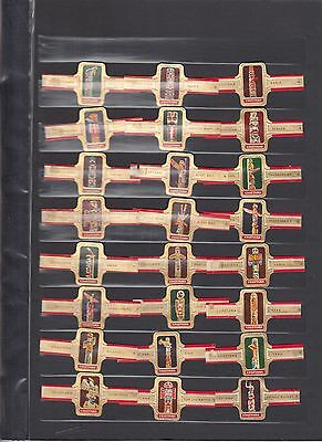 CIGAR BANDS Indian totems full 24 set complete