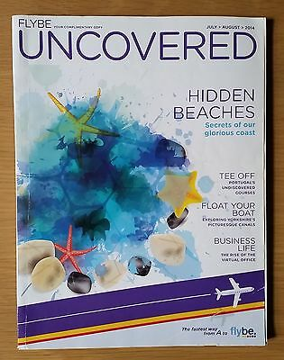 Flybe (UK airline) - 'Uncovered' inflight magazine July-August 2014