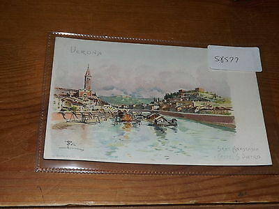 Old  postcard our ref #58577 ITALY VERONA