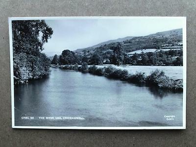 River Usk CRICKHOWELL Breconshire - Frith RP c1950s Standard Size
