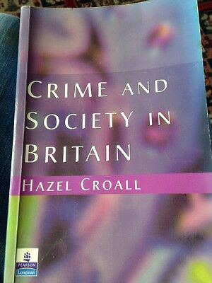 Crime and Society in Britain: An Introduction by Hazel Croall (Paperback, 1998)