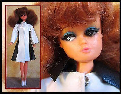 Vintage fashion doll, Petra von Plasty, Germany, red hair, Barbie clone