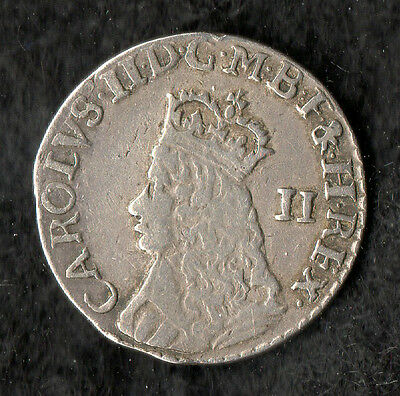 Charles II Maundy Twopence Silver Undated Issue