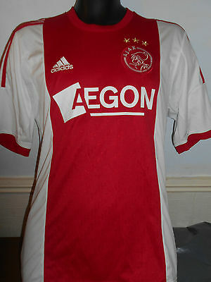 Ajax Home Shirt ( 2014/2015) medium men's #344