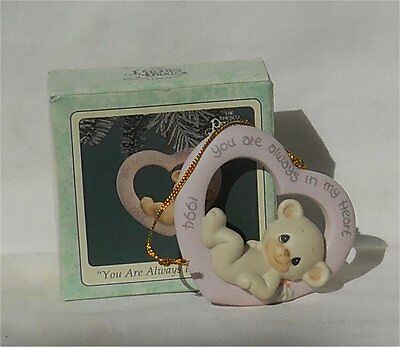 1994 Precious Moments Ornament You Are Always In My Heart