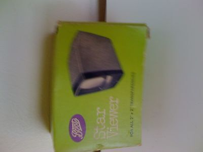 Boots Star Viewer for 2 x 2 inch transparencies
