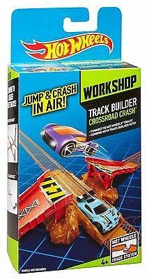 Hot Wheels Track Builder Crossroad Crash Stunt