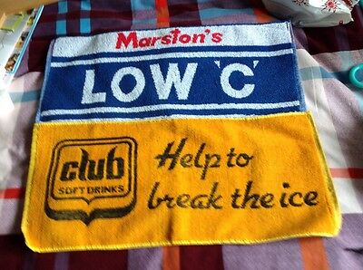 Two public house type bar towels ex cond