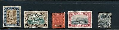 British Guiana stamp collection Mail boat Paquebot good cancels
