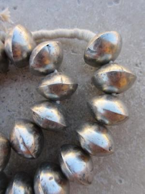 African 'Coin Metal' Beads