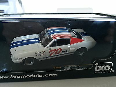 Shelby Gt350 1966 #70 1:43 Ixo Voiture-Collection-Diecast-Ixogtm089
