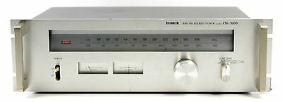FISHER FM-7000 AM/FM STEREO TUNER, RADIOEMPFÄNGER BOLIDE made in JAPAN