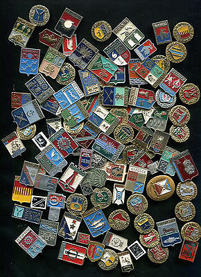 Russia USSR = ARMS = 100 Pin Badge - Geraldic Collection