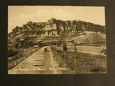San Marino early postcard 2 pictures