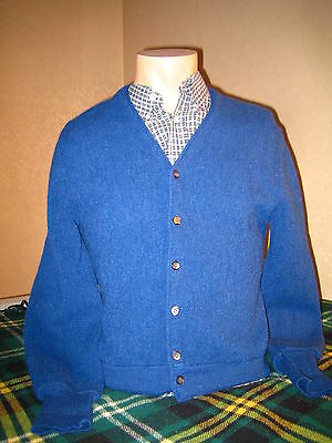 ARNOLD PALMER CARDIGAN M vintage casual jumper sweater FRED PERRY