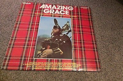 Amazing grace the pipes and drums LP