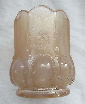 "Boyd Art Glass Toothpick Toothpick Beaded Oval "" Crown Tuscan"""