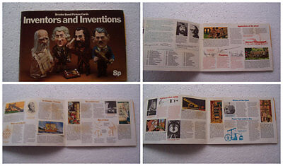 """Complete set of Brooke Bond """"Inventors and Inventions"""" in Album"""