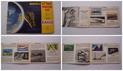 """Complete set of  """"Marvels of this modern age"""" issued with Eagle comic in Album"""