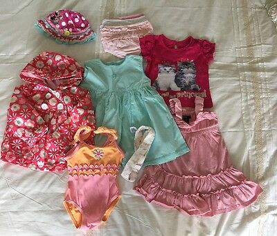 Small Bundle Baby Girls 6 To 12 Months Spring Summer Clothing