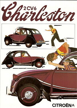 CITROEN 2CV 6 Charleston 1981 Sales Brochure